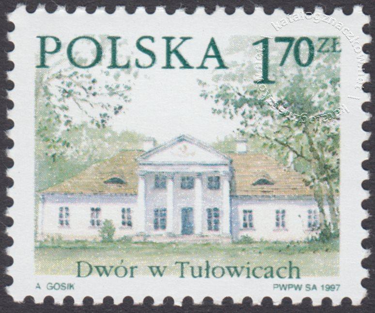 Dworki polskie znaczek nr 3504