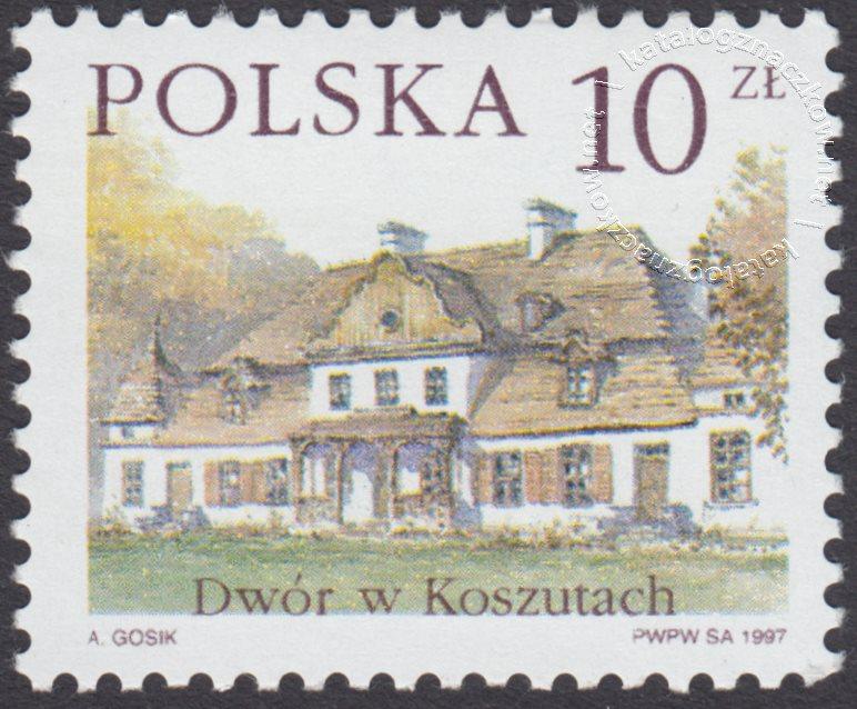 Dworki polskie znaczek nr 3506