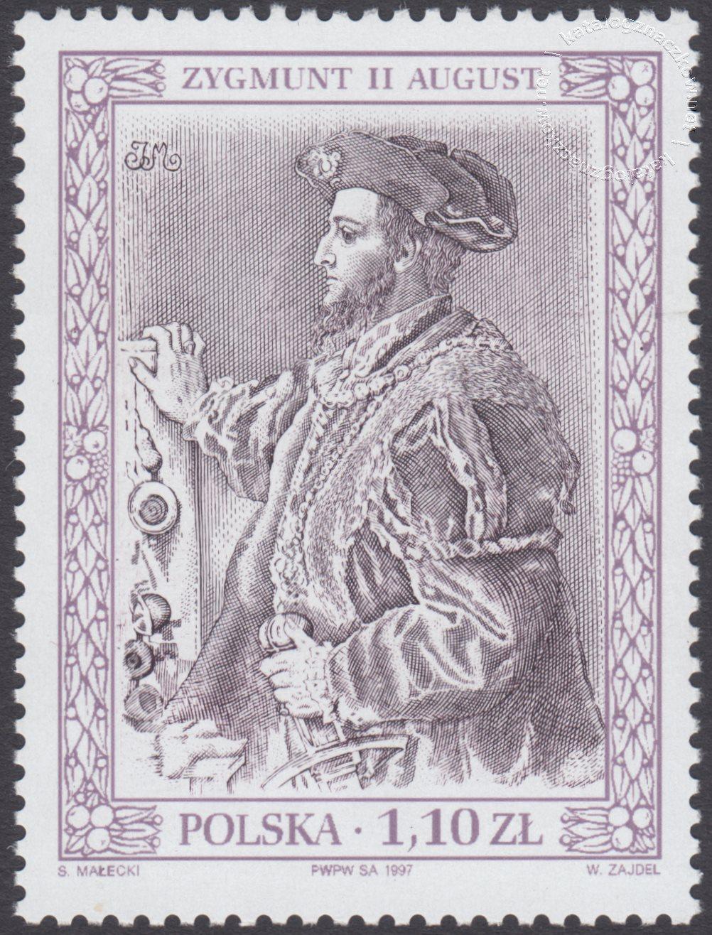 Poczet królów i książąt polskich znaczek nr 3526