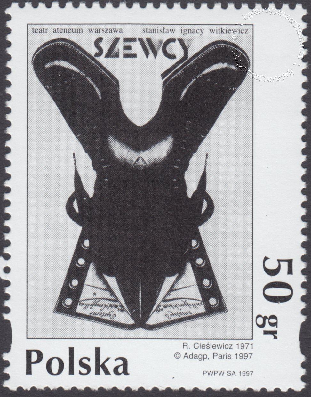 Plakat polski znaczek nr 3531