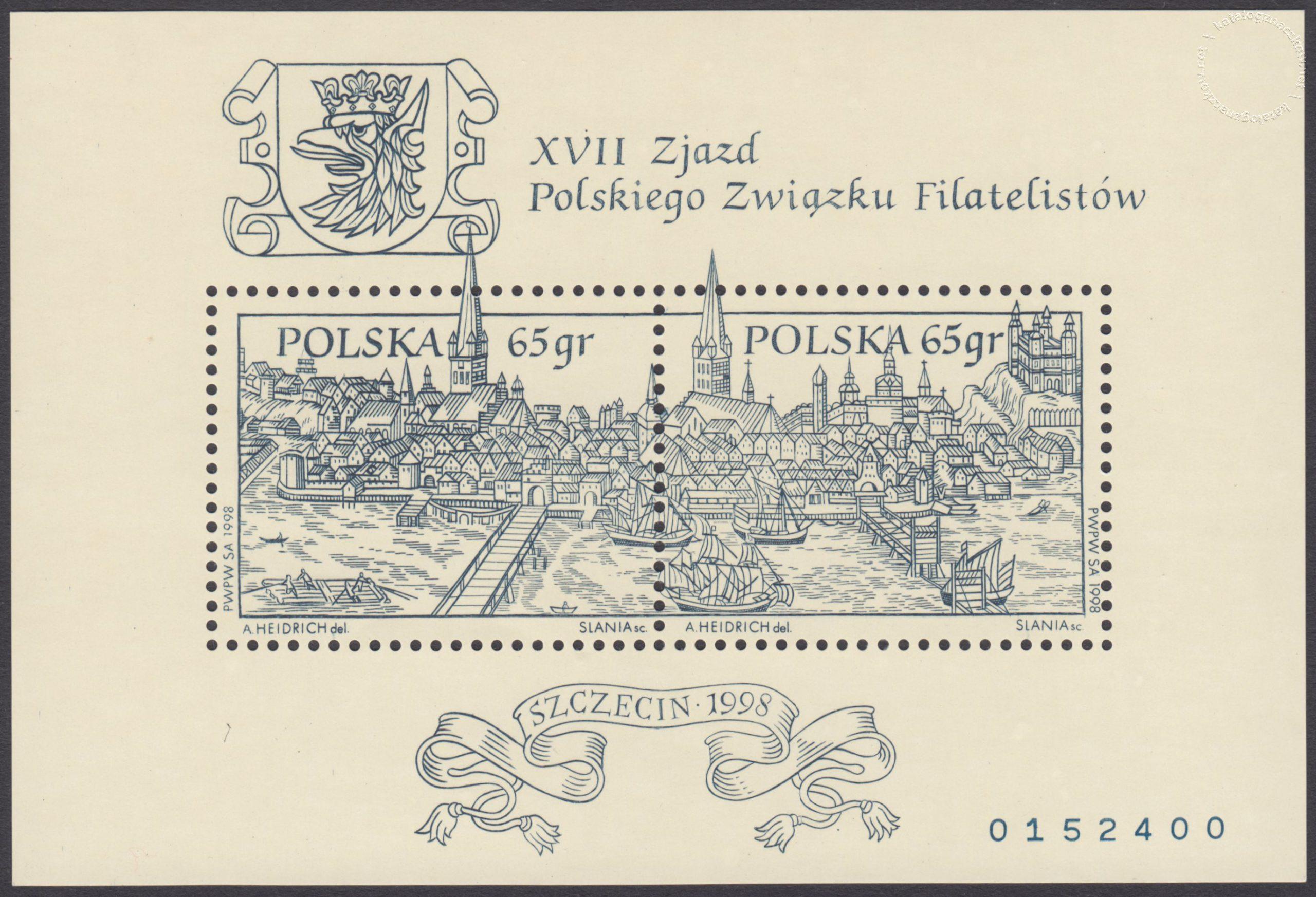 XVII Zjazd Polskiego Związku Filatelistów – Blok 11