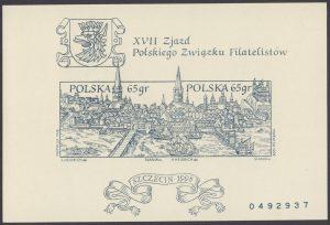XVII Zjazd Polskiego Związku Filatelistów - Blok 119A