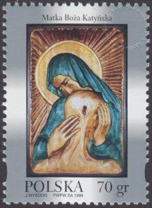Wizerunek Matki Bożej - patronki jeńców żołnierzy na Wschodzie - 3606
