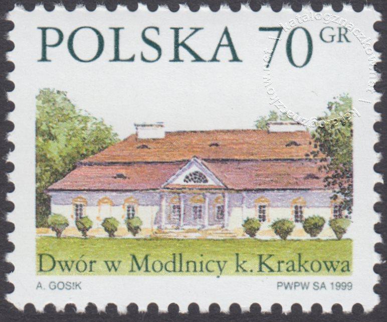 Dworki polskie znaczek nr 3624