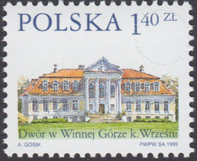 Dworki polskie znaczek nr 3626