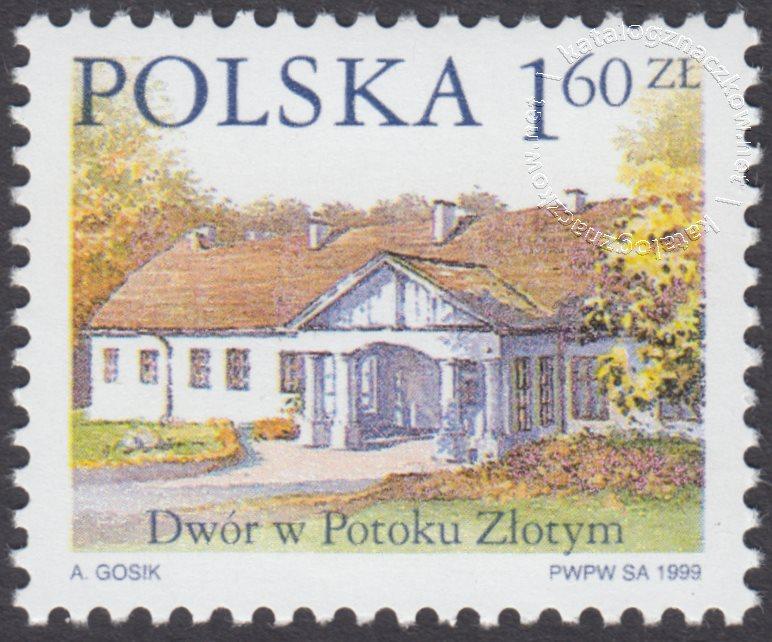 Dworki polskie znaczek nr 3627