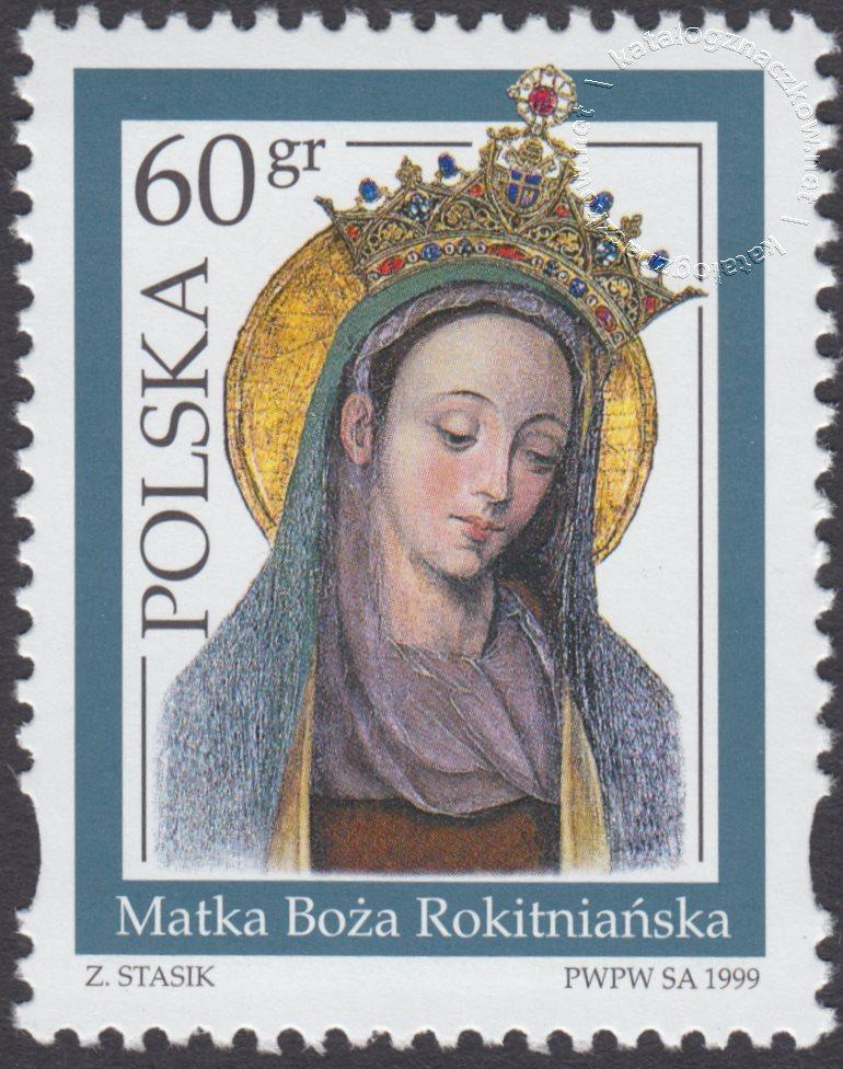 Sanktuaria Maryjne znaczek nr 3630