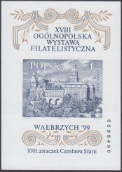 XVIII Ogólnopolska Wystawa Filatelistyczna Wałbrzych 99 - Blok 122A