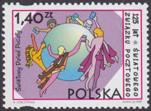Światowy Dzień Poczty - 125 lat Światowego Związku Pocztowego - 3645