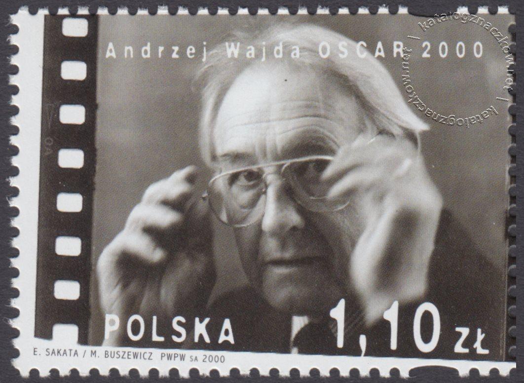 Andrzej Wajda – Oscar 2000 znaczek nr 3671