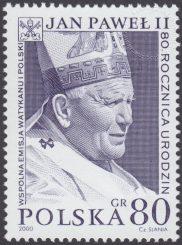 80 rocznica urodzin Papieża Jana Pawła II - 3682