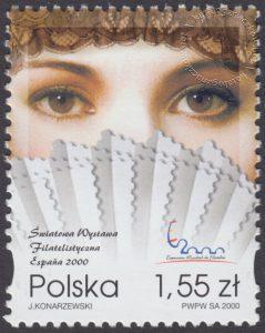 Światowa Wystawa Filatelistyczna - Espana 2000 - 3685
