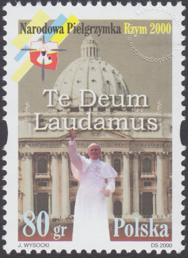 Pielgrzymka narodowa znaczek nr 3696