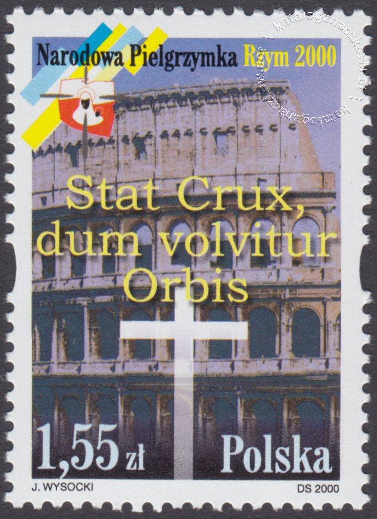 Pielgrzymka narodowa znaczek nr 3697