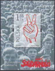 20 rocznica powstania Solidarności - Blok 127
