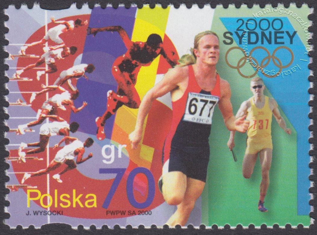 Igrzyska XXVII Olimpiady Sydney 2000 znaczek nr 3706