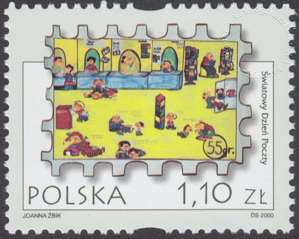 Światowy Dzień Poczty – Poczta w oczach dzieci znaczek nr 3712