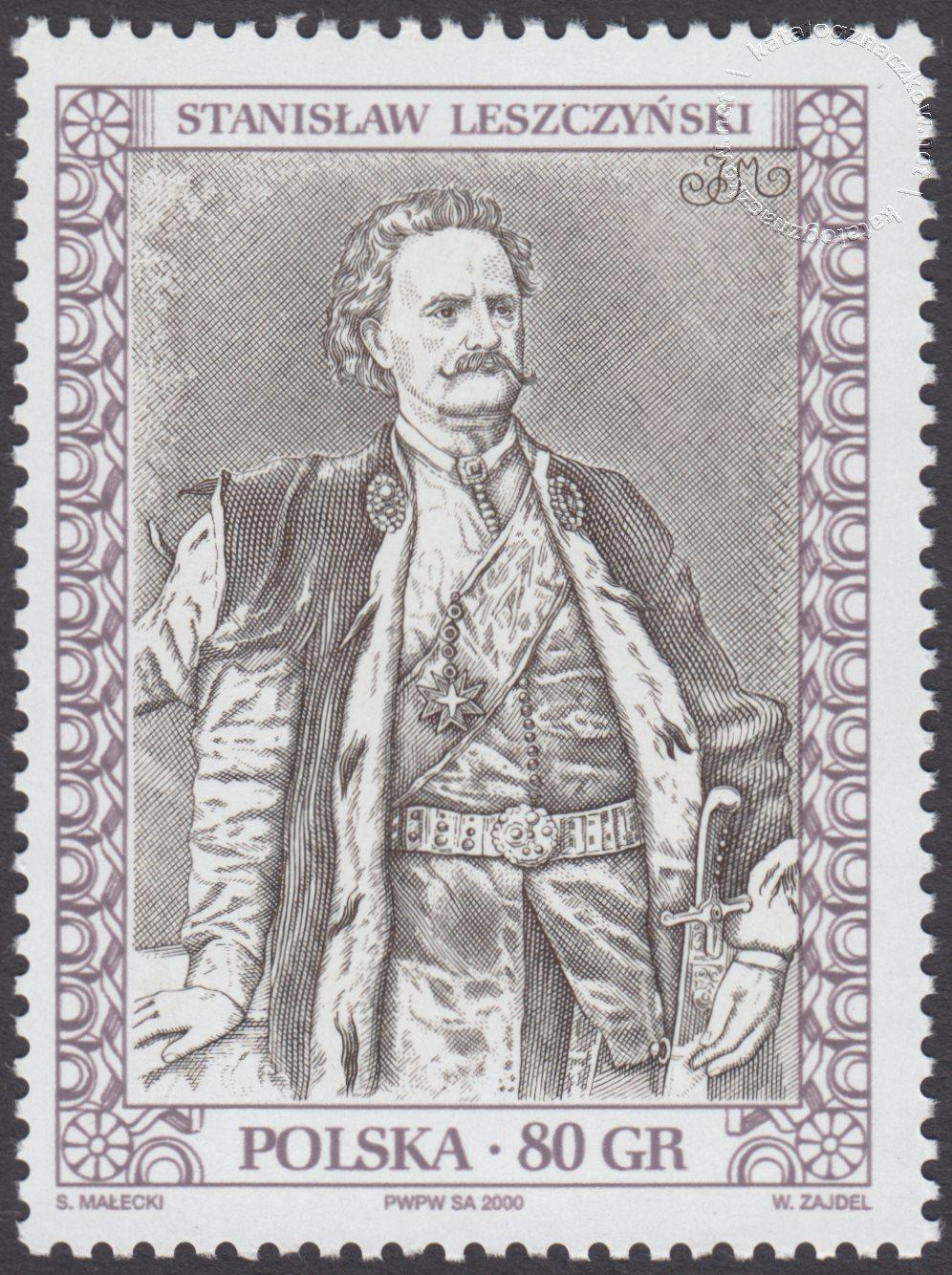 Poczet królów i książąt polskich znaczek nr 3716