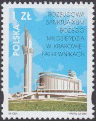 Rozbudowa Sanktuarium Bożego Miłosierdzia w Krakowie-Łagiewnikach - 3758
