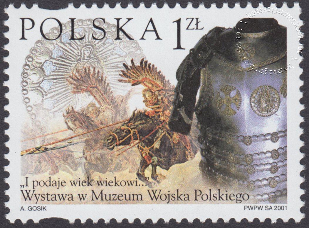 Wystawa w Muzeum Wojska Polskiego I podaje wiek wiekowi… znaczek nr 3769