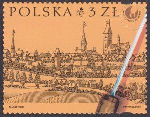 Europejska Wystawa Filatelistyczna - EuroCuprum 2001 - 3762B