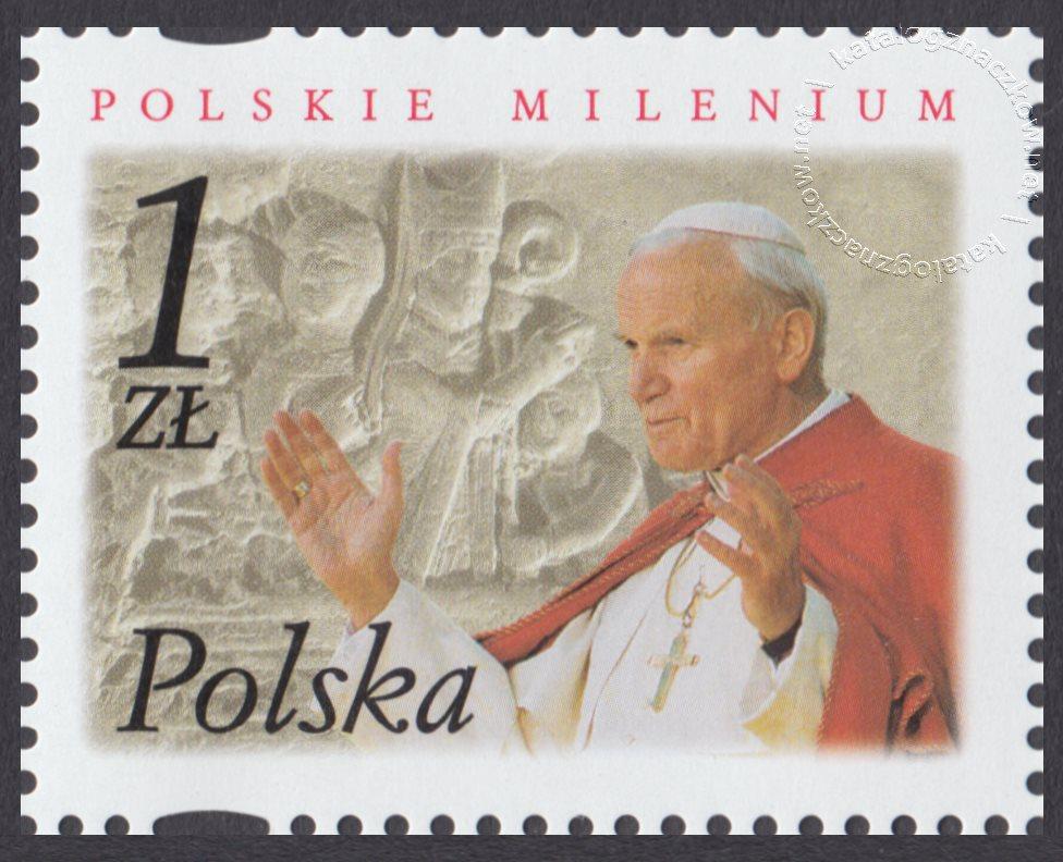 Polskie Millenium znaczek nr 3780