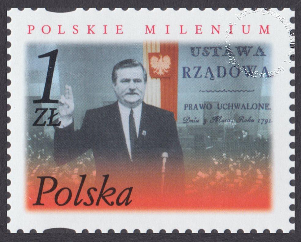 Polskie Millenium znaczek nr 3781
