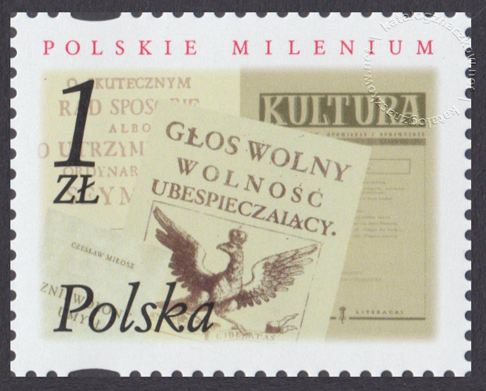 Polskie Millenium znaczek nr 3782