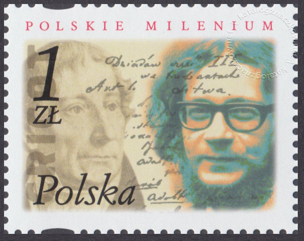 Polskie Millenium znaczek nr 3783