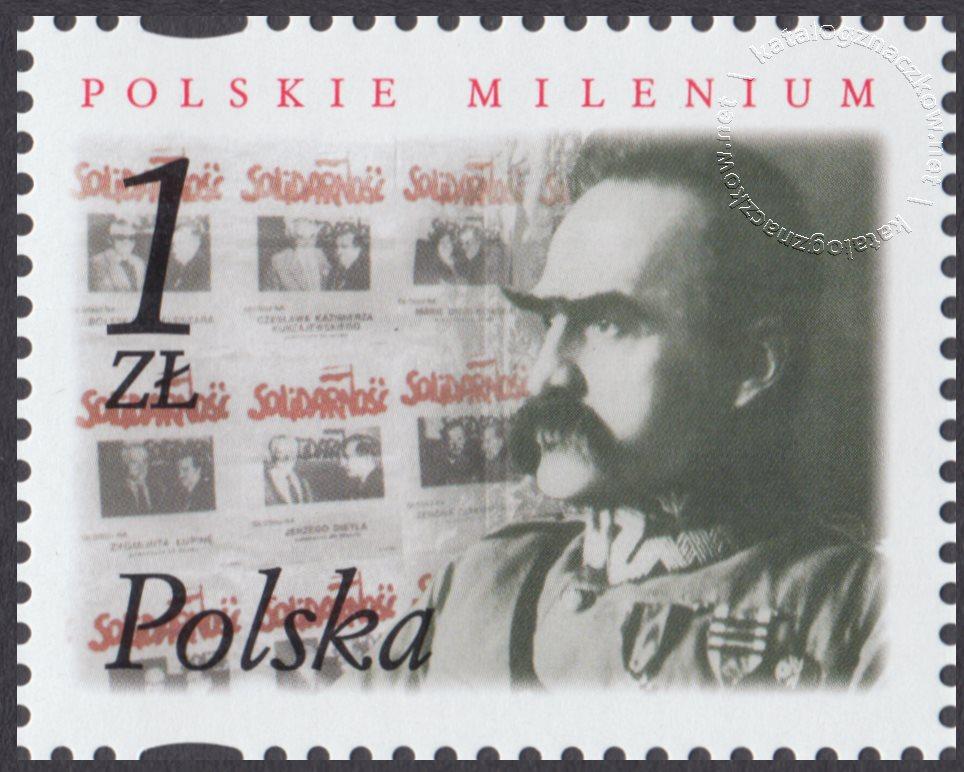 Polskie Millenium znaczek nr 3784