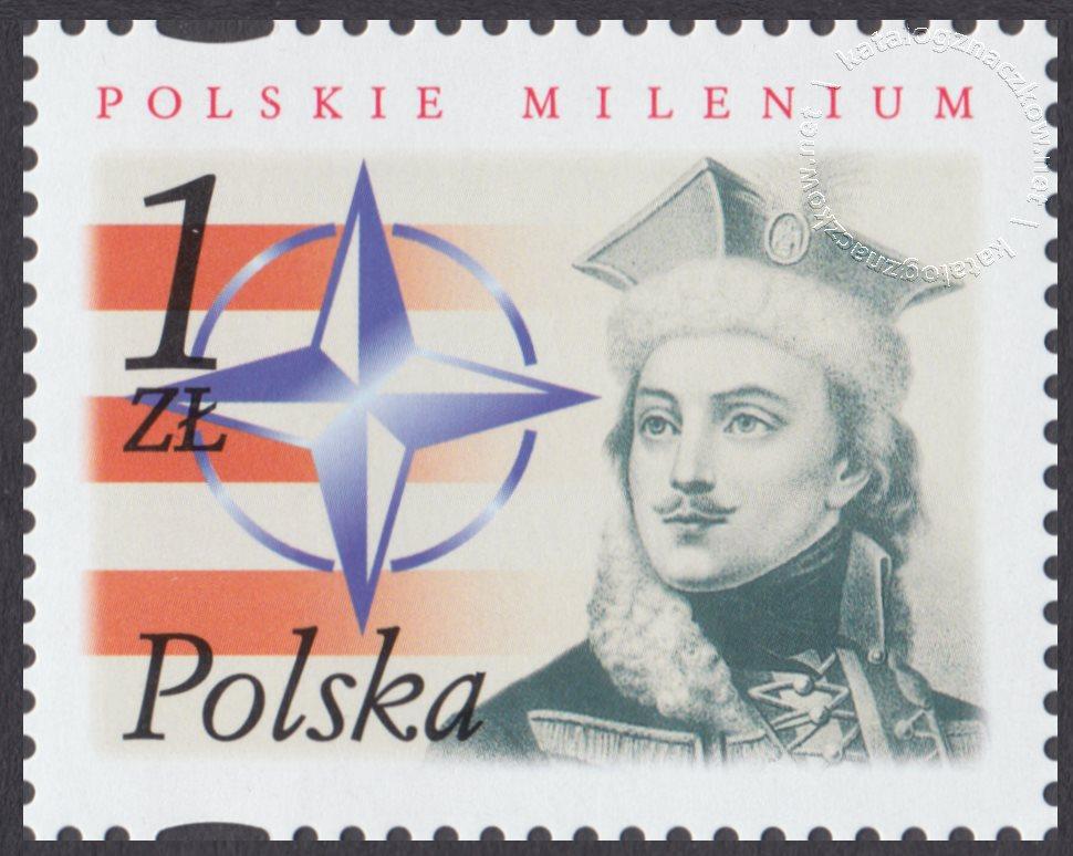 Polskie Millenium znaczek nr 3785