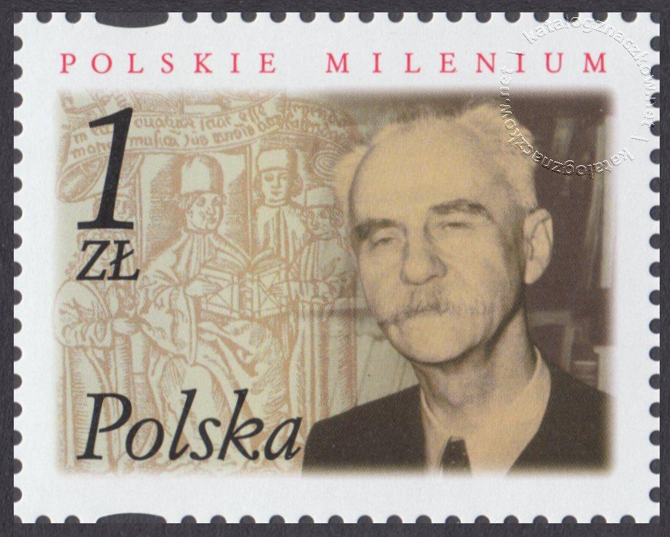 Polskie Millenium znaczek nr 3787