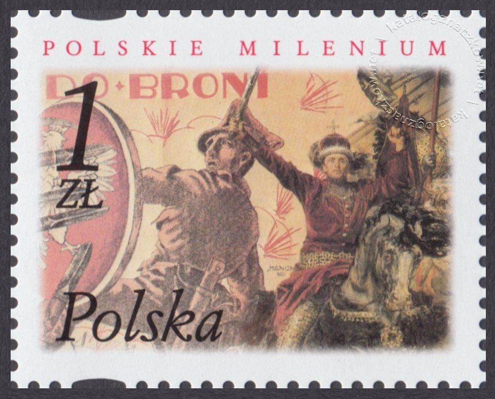 Polskie Millenium znaczek nr 3788