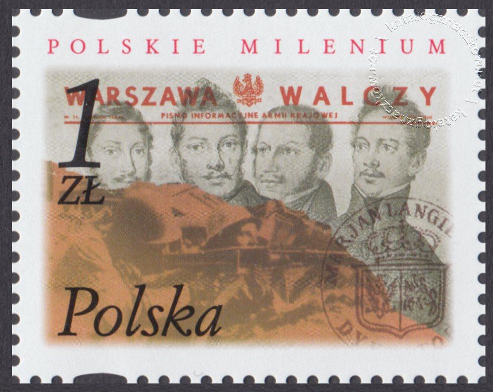 Polskie Millenium znaczek nr 3789