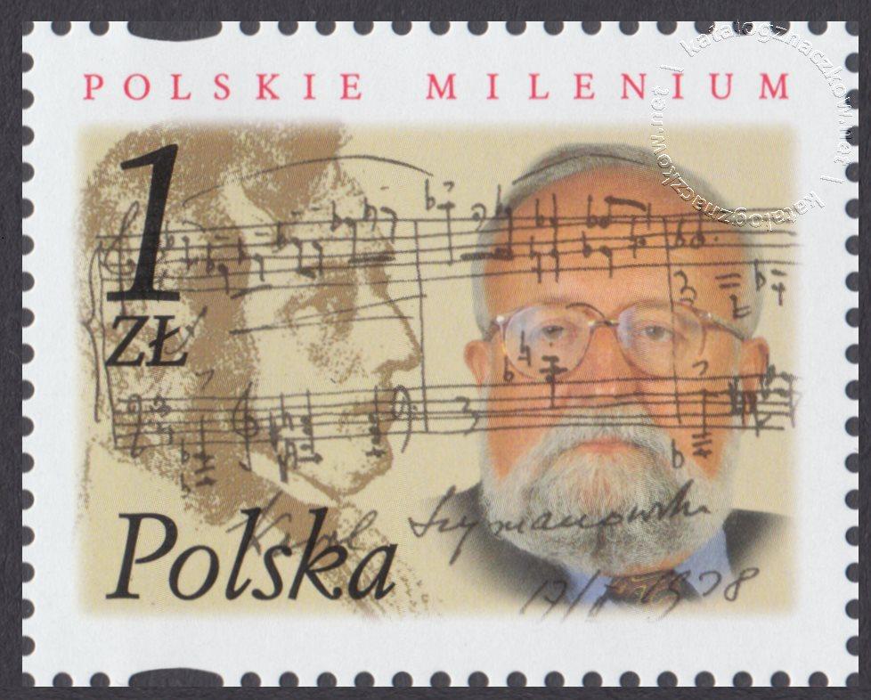 Polskie Millenium znaczek nr 3791