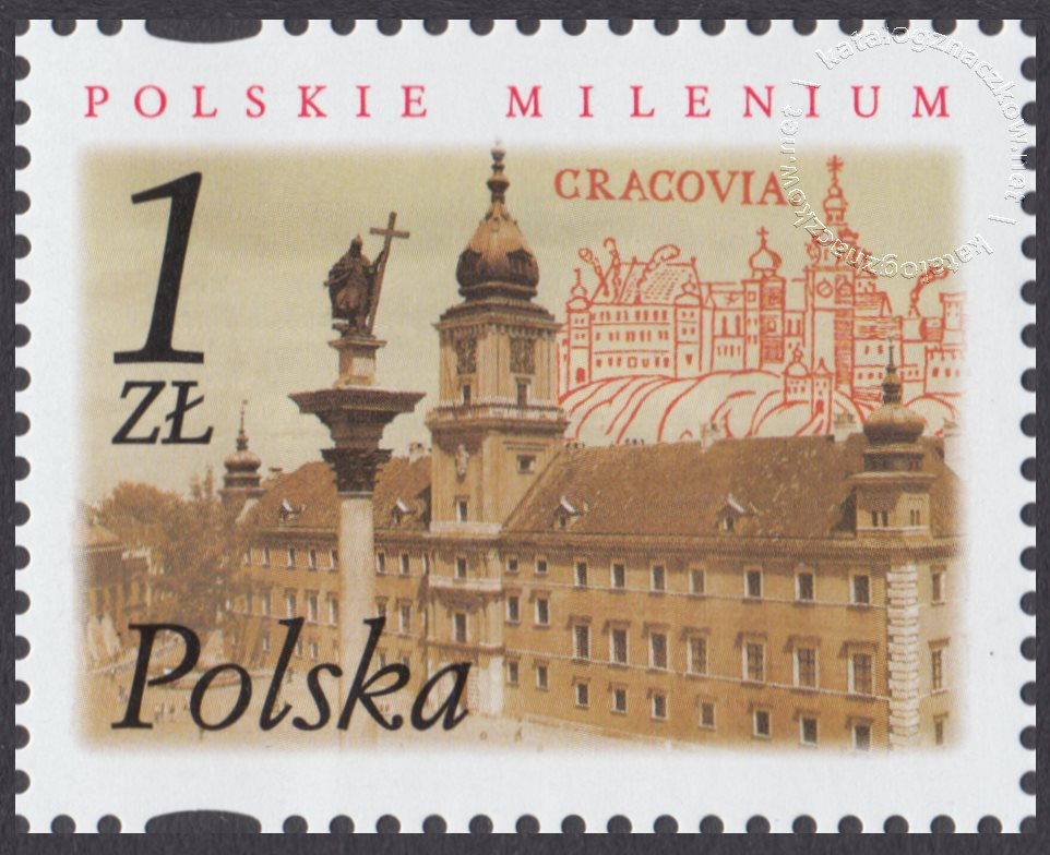 Polskie Millenium znaczek nr 3792