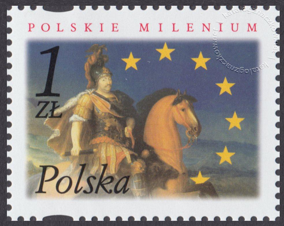Polskie Millenium znaczek nr 3793