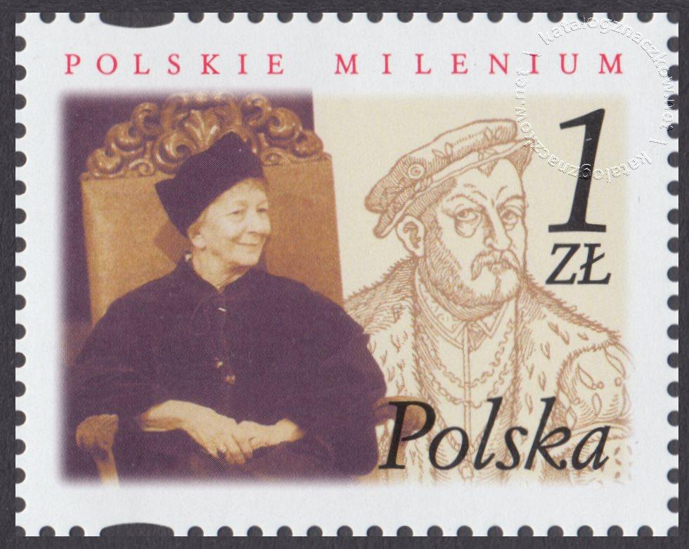 Polskie Millenium znaczek nr 3794