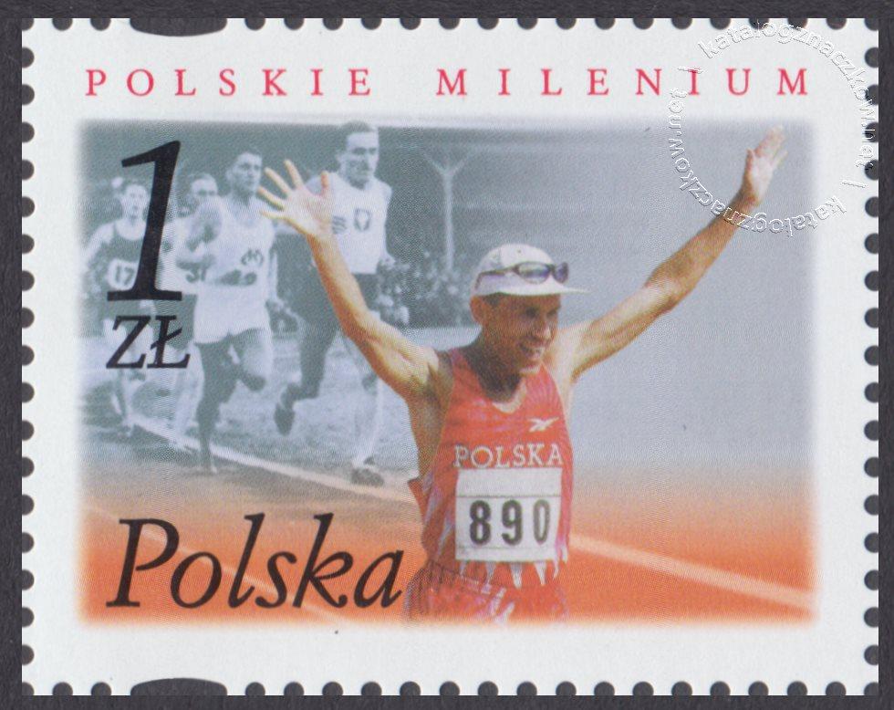 Polskie Millenium znaczek nr 3795