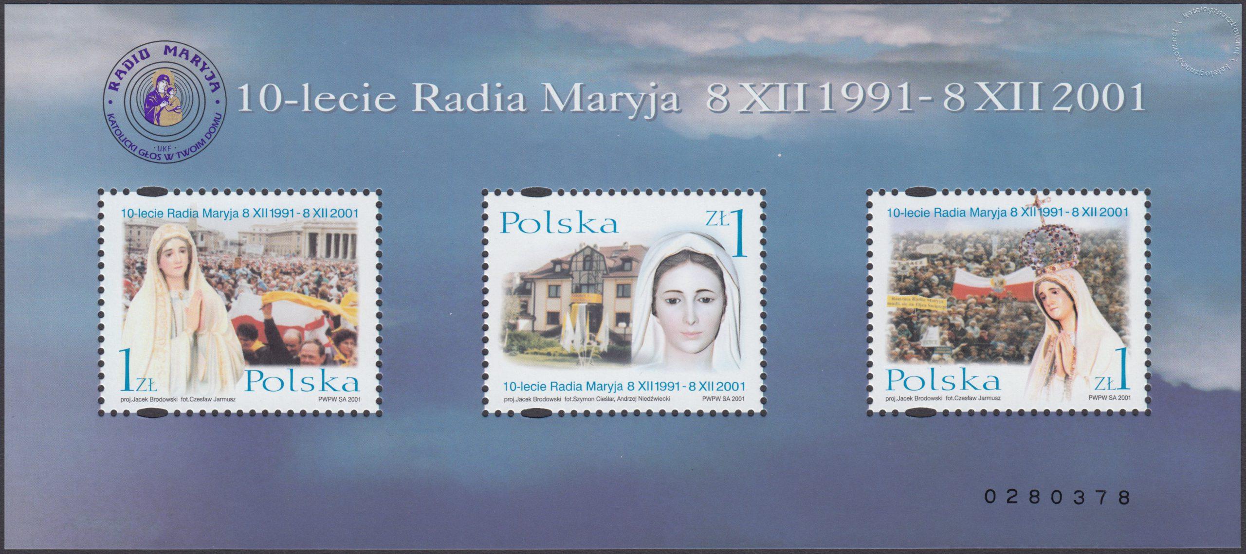 10-lecie Powstania Radia Maryja – Blok 132