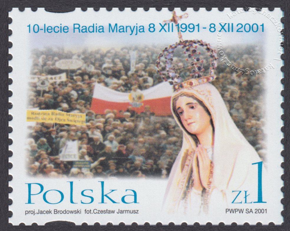 10-lecie Powstania Radia Maryja znazek nr 3800