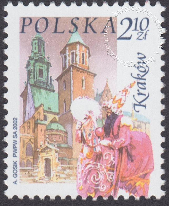 Miasta polskie znaczek nr 3806