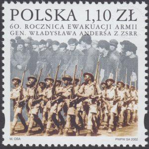 60 rocznica ewakuacji armii gen. Władysława Andersa z ZSRR - 3814