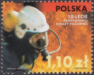 X-lecie powstania Państwowej Straży Pożarnej - 3821