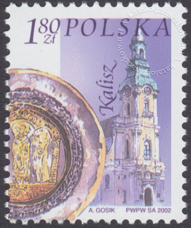 Miasta polskie znaczek nr 3830