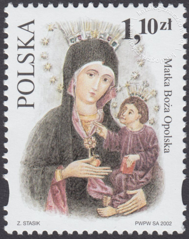 Sanktuaria Maryjne znaczek nr 3837