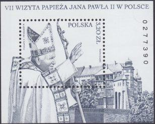 VII wizyta Papieża Jana Pawła II w Polsce - Blok 133