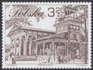 XVIII Walny Zjazd Delegatów Polskiego Związku Filatelistów w Ciechocinku - 3840B