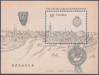 750-lecie lokacji Poznania - Blok 135