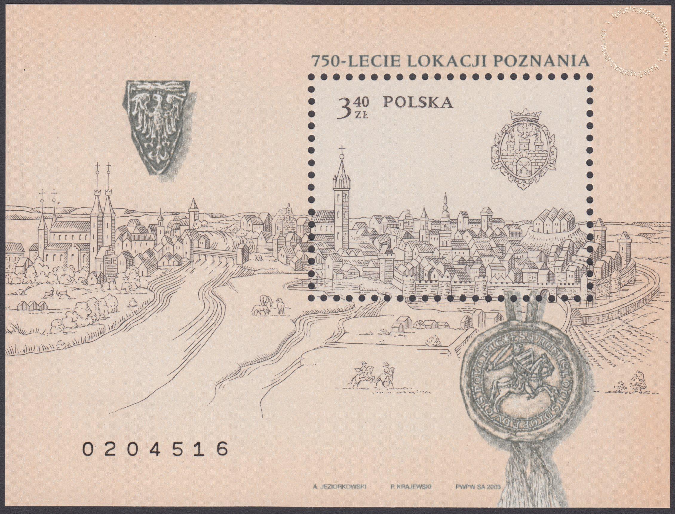 750-lecie lokacji Poznania – Blok 135